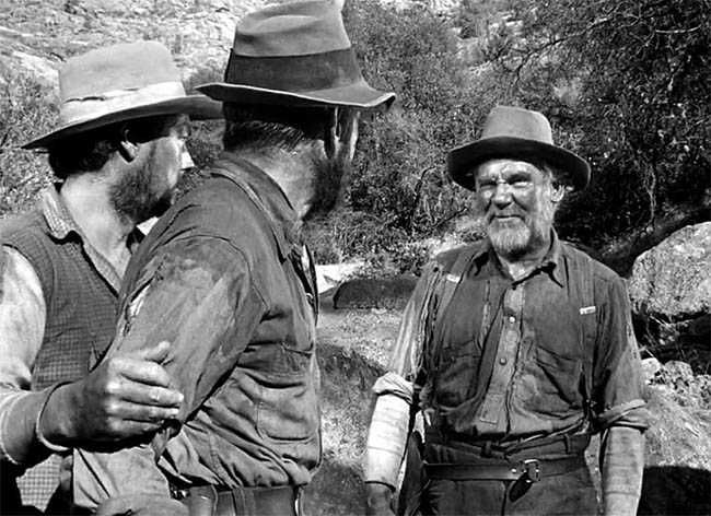 Walter Huston in John Huston's movie Treasure of the Sierra Madre (1948)