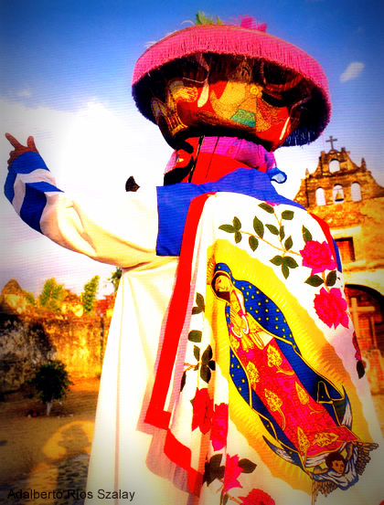 Colorful traditional garb
