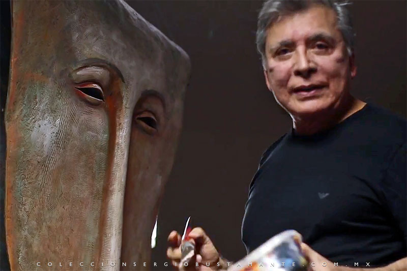 Sergio Bustamante, artist and sculptor