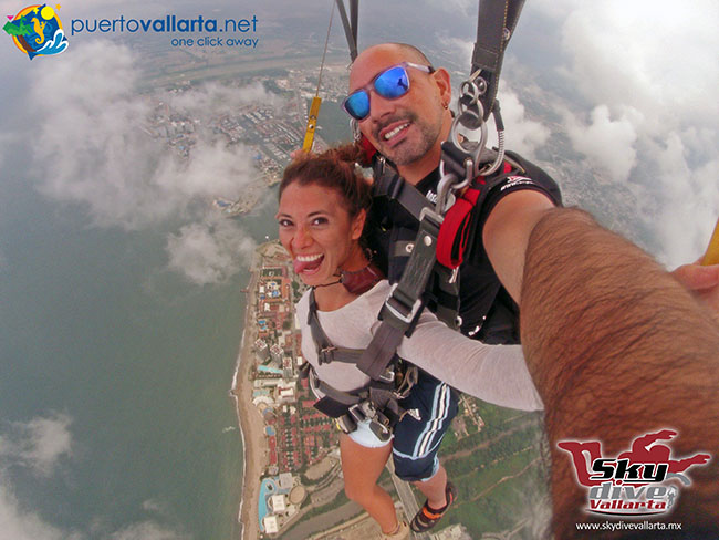 Skydiving in Puerto Vallarta
