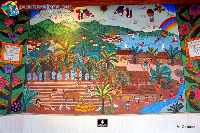 Manuel Lepe Mural at the Puerto Vallarta City Hall