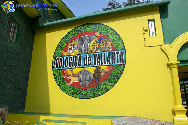 Entrance to Vallarta Zoo