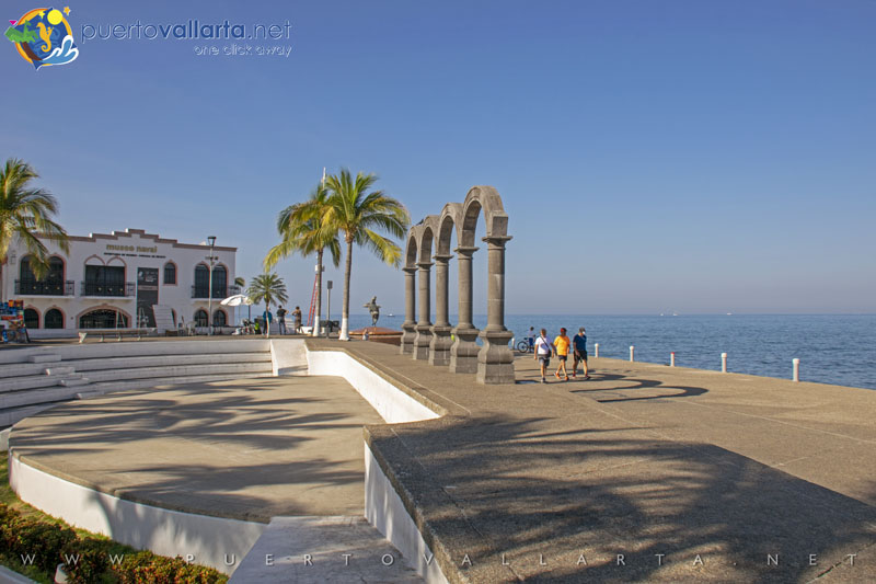 Los Arcos Amphitheater and the Malecon Arches