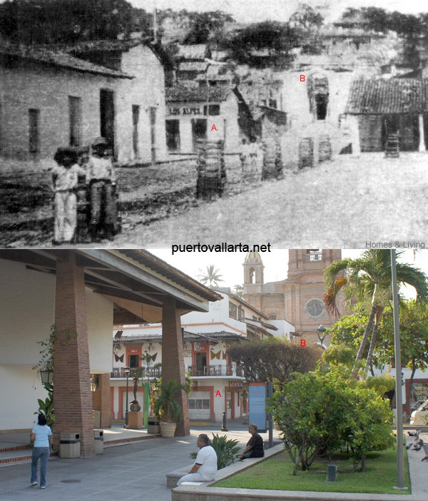Av Independencia and the Parish 1920s vs 2010s