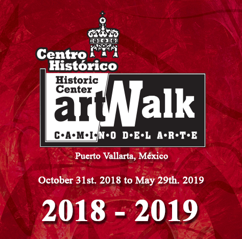 Puerto Vallarta ArtWalk Logo 2018