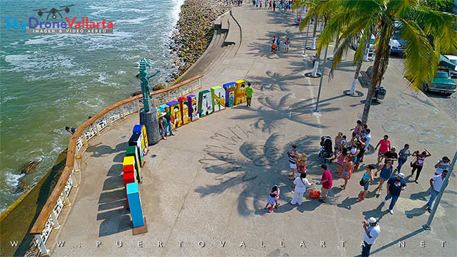 Walk along the Puerto Vallarta Malecon