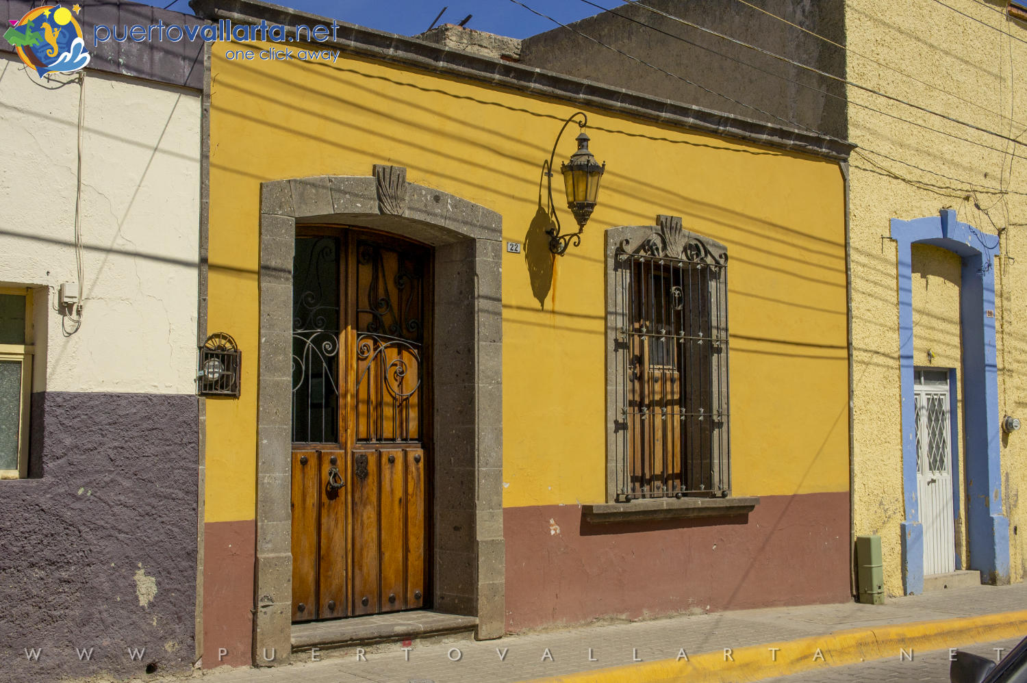 The houses of Tequila, Jalisco, Mexico