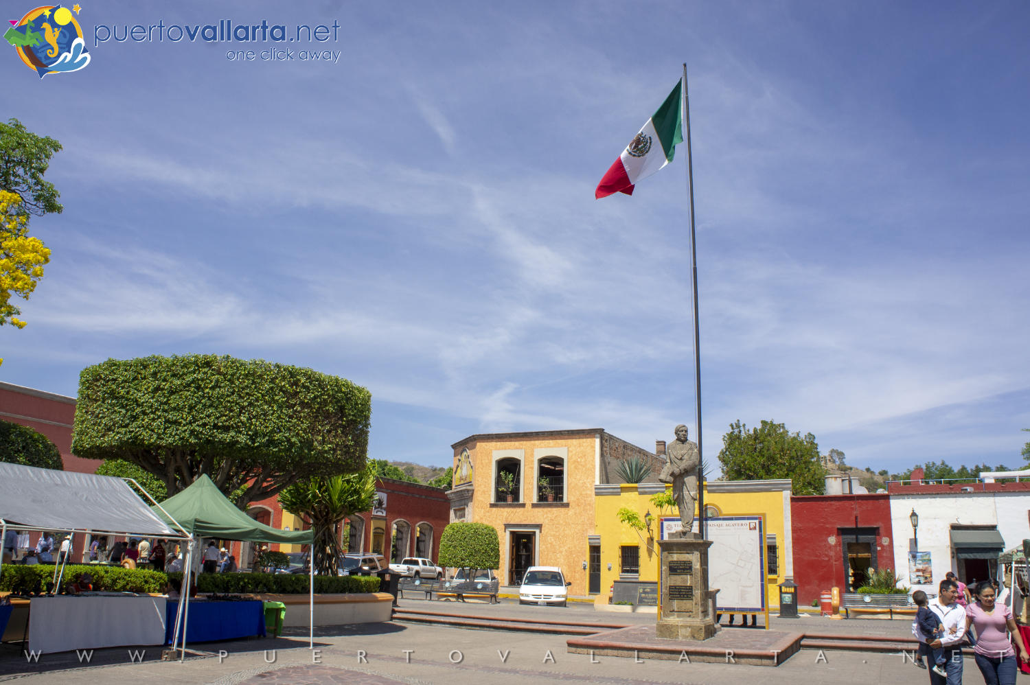 Main Square of Tequila