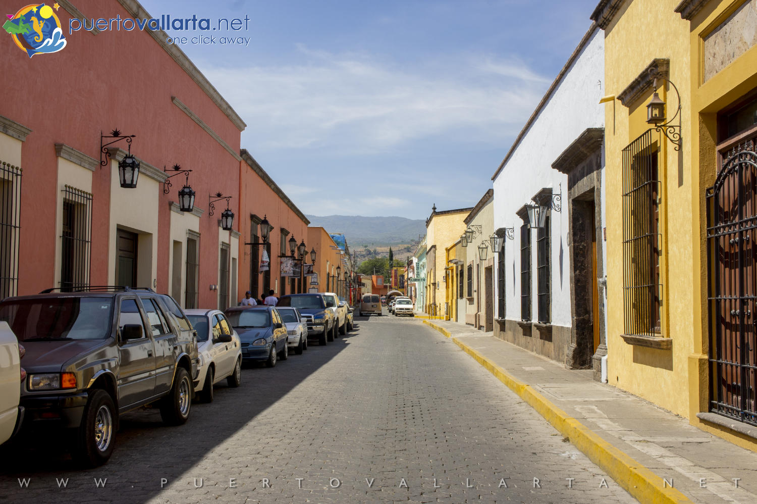 Streets of downtown Tequila, Mexico