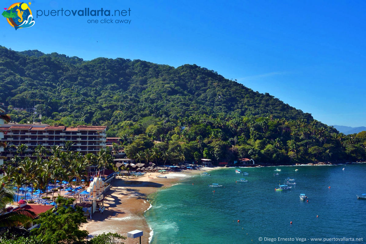Mismaloya Beach view