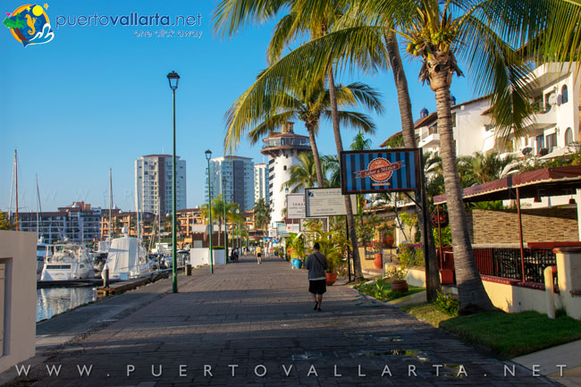 Marina Vallarta boardwalk