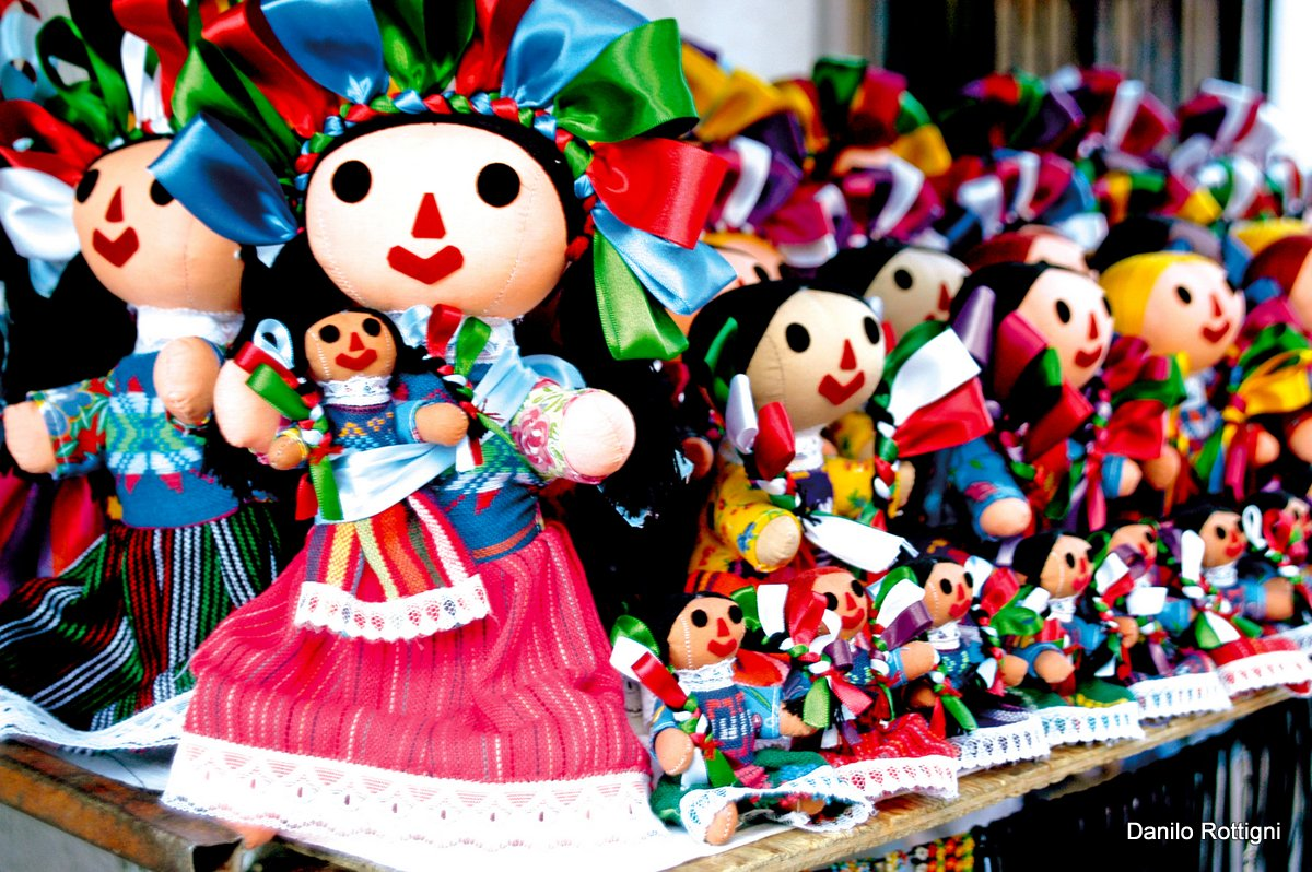 Traditional Mexican dolls