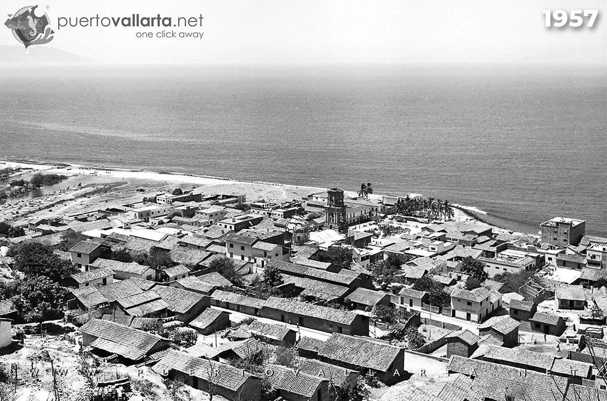 Downtown Puerto Vallarta 1957