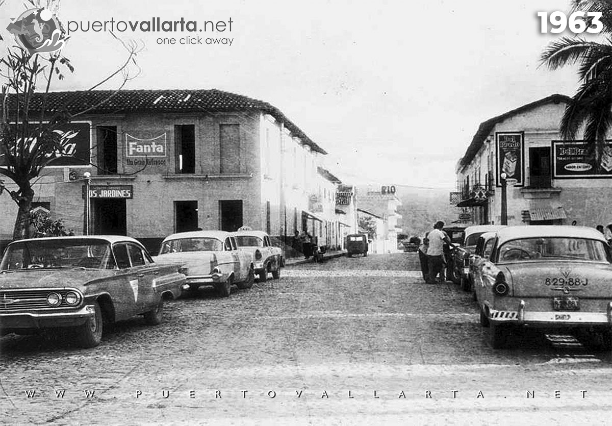 Main Square and Morelos 1963