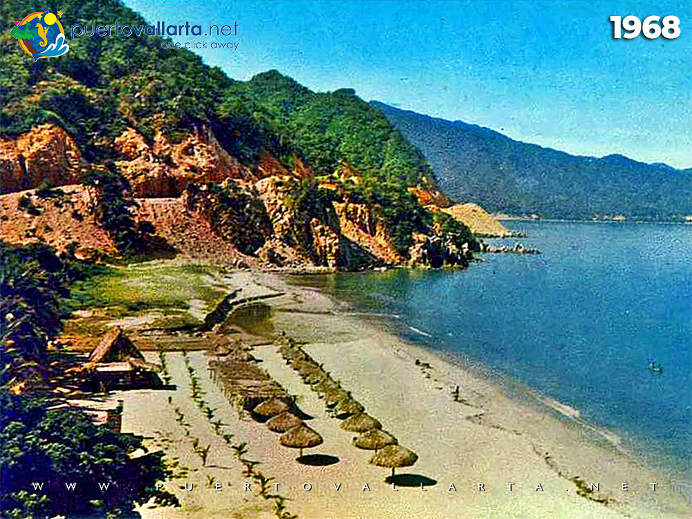 Las Estacas Beach 1968