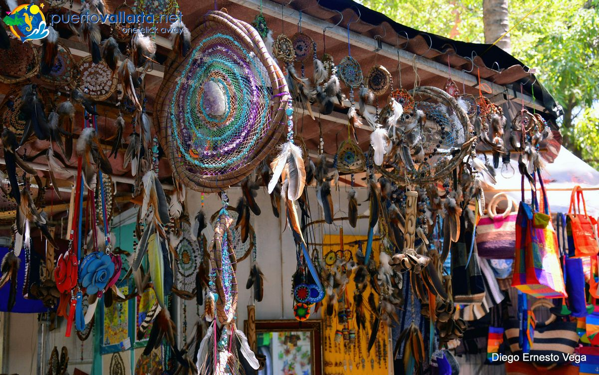 Souvenirs and handicrafts, Cuale River Island, downtown Puerto Vallarta